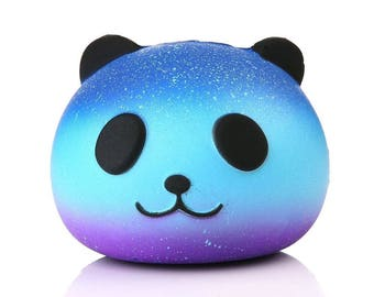 BUY 4 GET 1 / 10CM Panda Cream Scented Squishy Slow Rising Squeeze Kid Toy Phone Charm Fashion