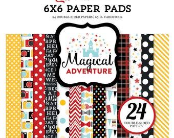 Magical Adventures 6x6 paper pad