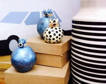 ceramic pomegranate/ home decoration