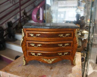 Miniature Dresser master Louis XV style - early XXth