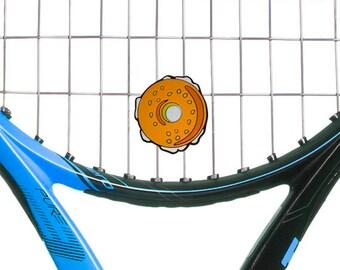 Oversized Bagel Tennis Vibration Dampener Racket Shock Absorber 2-Pack by Racket Expressions. Great tennis gift for men or women!