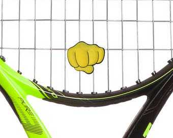 Fist tennis racket vibration dampener 2 Pack by Racket Expressions. Great tennis gift!