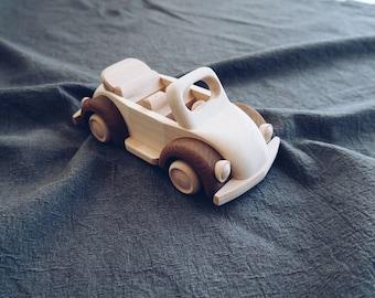 Eco handmade wooden vehicles