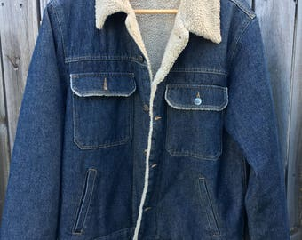 Men's late 90s vintage styled denim jacket