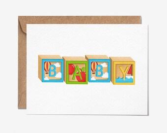 New Baby - Greeting Card - Folio - Stationery - thisisfolio