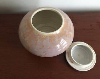 Handmade Ceramic Pot With Crystalline Glaze