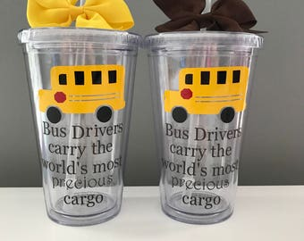 Bus Driver Tumblers