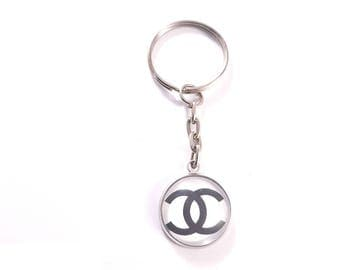 Keychain with Chanel logo