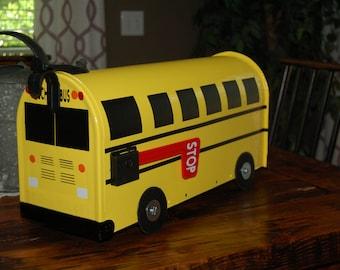 School Bus Mailbox