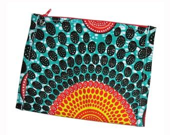 African Bag / Handmade Bag / Clutch Bag / Cross Body Bag / Wristlet / Zippered Pouch / Make Up Case / Gift ideas / Women's Accessories