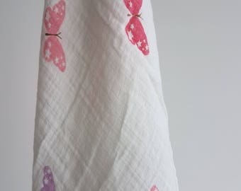 Pretty in Pink Butterfly Swaddle