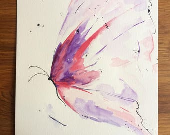 Painting Butterfly watercolor painting butterfly watercolor