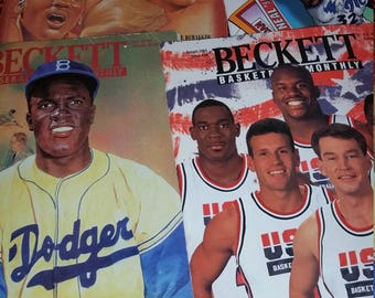 90s Special Becket Tuff Stuff Combo Basketball Sports Magazines (4)
