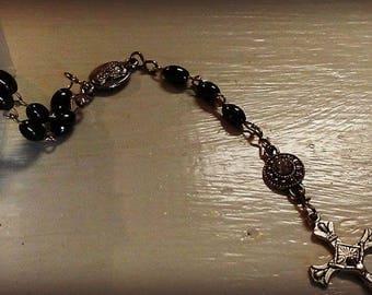 Naural Hematite Rosary
