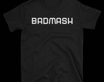 BADMASH Hindi Desi phrase t-shirt