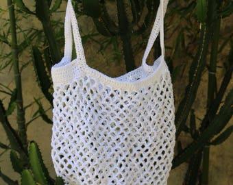 Net bag. Market bag. NET shopping or beach bag