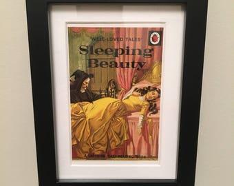 Retro Ladybird Book cover. Sleeping Beauty