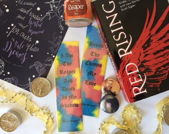 Red Rising trilogy bookmark