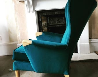 Parker Knoll wingback chair