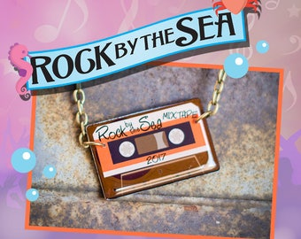 Rock by the Sea: Limited 2017 Mixtape Necklace