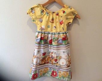Girls Ruffle Dress - Size 6