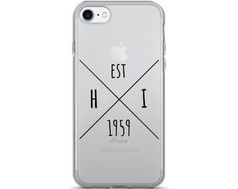 Hawaii Statehood - iPhone Case (iPhone 7/7 Plus, iPhone 8/8 Plus, iPhone X)