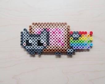 Nyan Cat perler