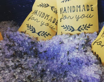 Relaxing and Replenishing Bath Salts with Dead Sea Salt