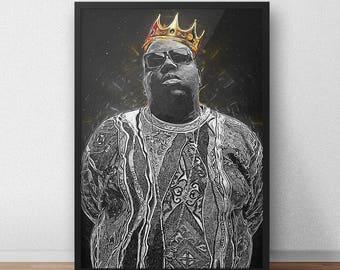 Notorious B.I.G. Biggie Smalls Poster
