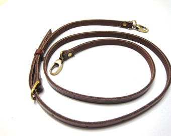 wide 1 cm, Leather Bag Strap for Bag Repair Long 90-130cm