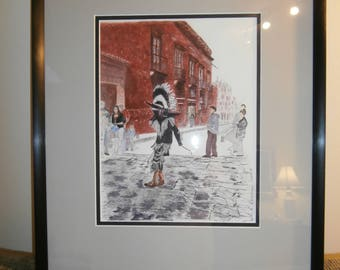 watercolor painting by retired Canadian Opera Singer Eva Beames