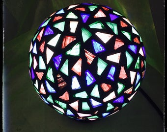Light Mosaic Ball