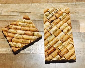 Wine Cork Trivets; Tile Trivets; Hot Plates