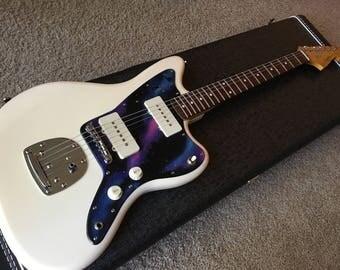 Custom Guitar Pickguard, Hand Painted Guitar Pickguard, Any Guitar Custom Painted Pickguard, Hand Painted Bass Pickguard, Any Bass Pickguard