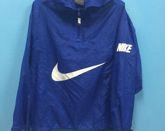 Rare!! Vintage!! Nike Windbreaker Spell Out!! Big Logo!! Streetwear!! Swagger!! Street style!! Gear for Sport!!