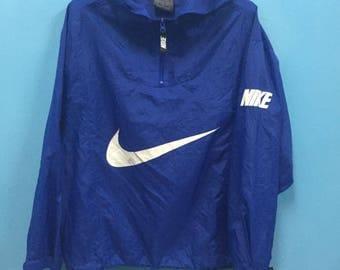 Rare!! Vintage!! Nike Windbreaker Spell Out!! Big Logo!! Streetwear!! Swagger!! Street style!! Gear for Sport!!