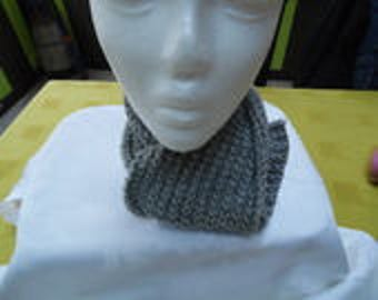 Scarf light gray pattern