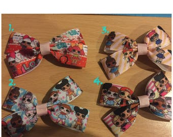 NEW LOL Surprise Doll Bows, Hair Ties and Clips