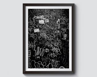 Manhattan Graffiti Print