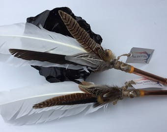 Copper Pheasant  Smudge fan