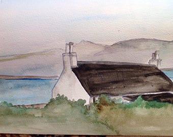 Loch kishourn cottage