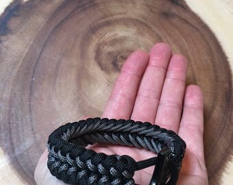 Thor's Hammer Stitched Paracord Bracelet (v. 3)