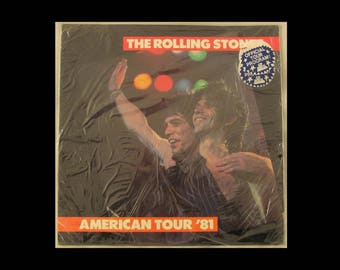 Rolling Stones 1981 Tattoo You Tour Official Concert Program (New Condition/SS)