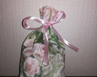 Cotton flower gift bag