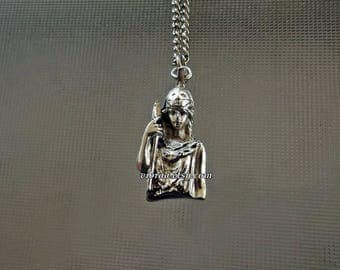 Goddess Athena Necklace Pendant