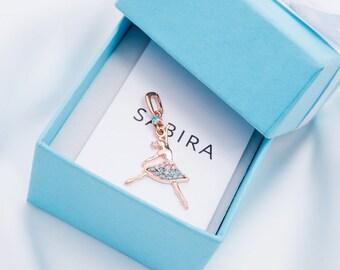 Ballet Pendant-Ballet Gift-Ballerina Gift-Art Pendant-Dancer Pendant-Odette Pendant-Dancer Gift