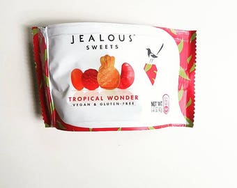 Vegan, Gluten Free, Tropical Flavour Sweets