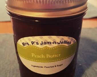 Mrs. P's Jam-n-Jellies - Peach Butter - 8 oz