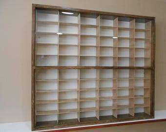 Display case cabinet for 1/43 diecast scale cars - 60NWD-1
