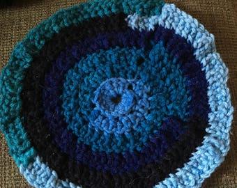 Handmade chrochet pot holder